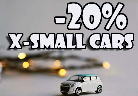 xsmall cars discount